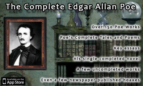 The Complete Edgar Allan Poe for iPhone, iPod Touch, and iPad