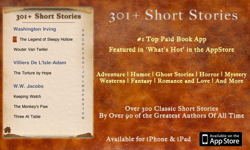 301+ Short Stories for iPhone, iPod Touch, iPad