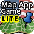 The Map App Game - Lite on iPhone, iPod Touch, and iPad by 288 Vroom
