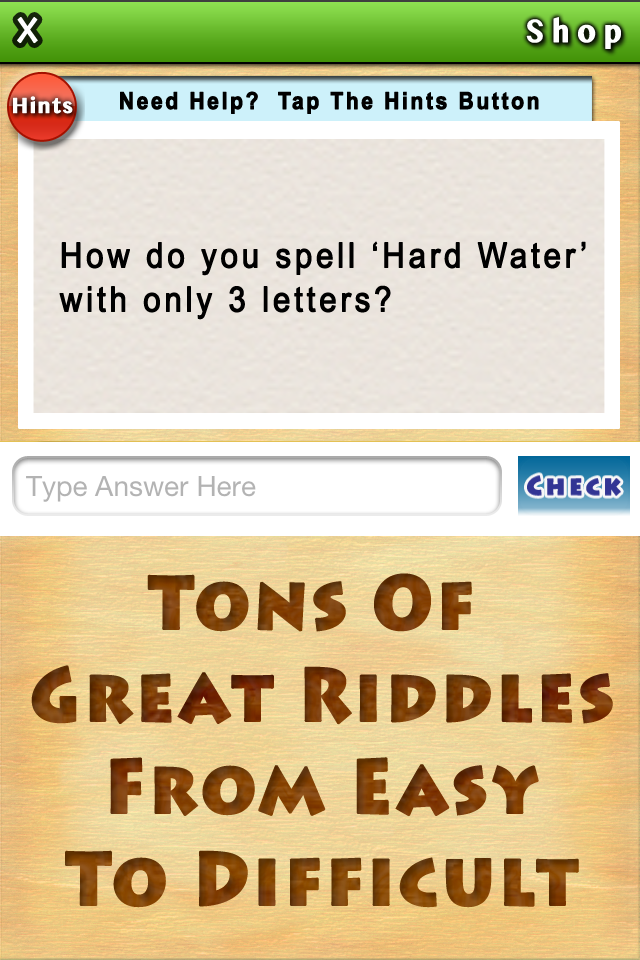 Big App Of Little Riddles The new puzzle game that will keep you entertained for hours!