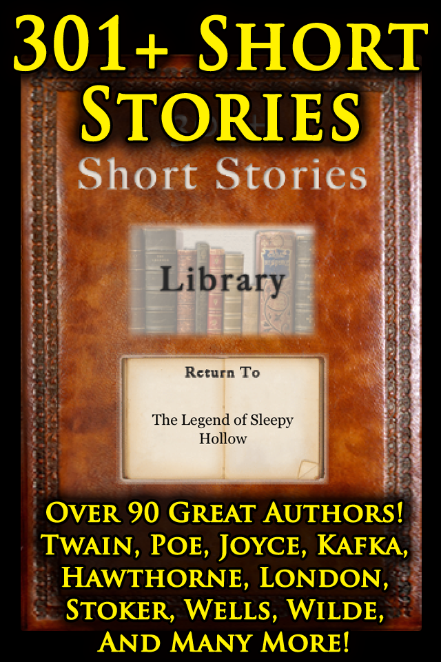 301+ Short Stories Mark Twain, Edgar Allan Poe, James Joyce, Jack London, Bram Stoker, H.G. Wells and more