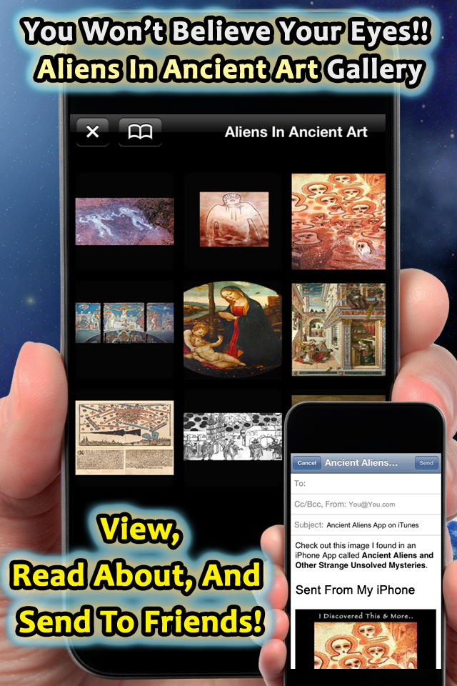 Aliens In Ancient Art You have to see this to believe it!