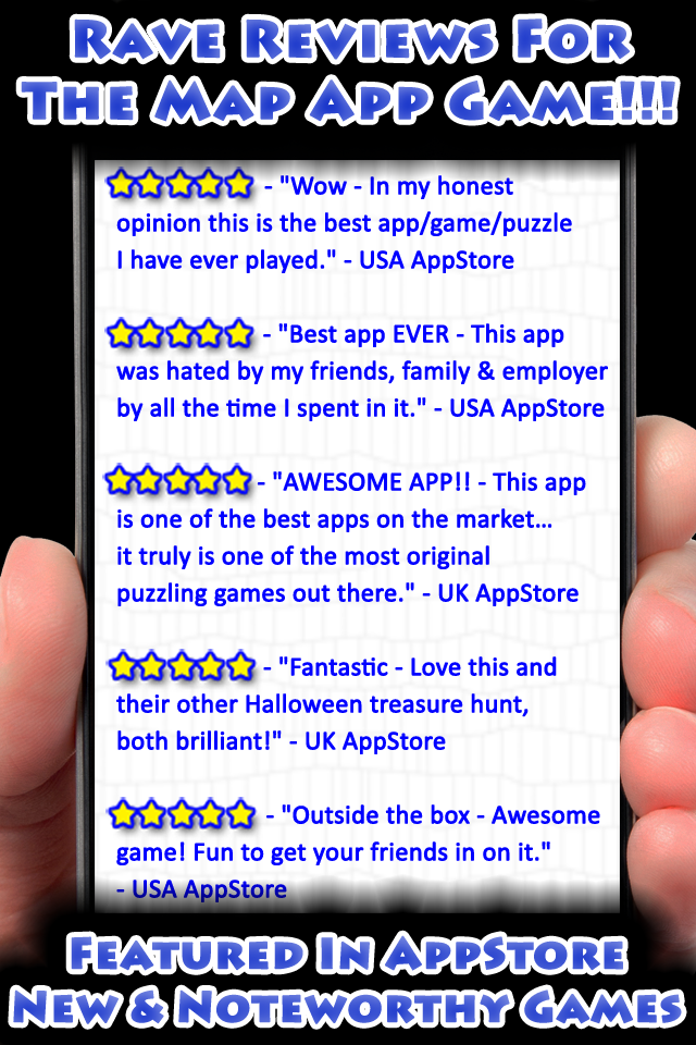 Rave Reviews Be sure to check out the great reviews in the AppStore